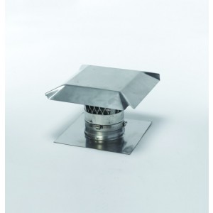 Stainless Steel Chimney Top Cap Kit
